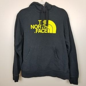The North Face Mens Black Hooded Pullover size L
